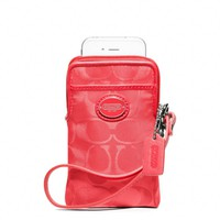 Coach :: Legacy Signature Nylon Universal Case