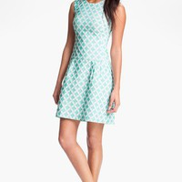 Phoebe Couture Jacquard Drop Waist Dress | Nordstrom