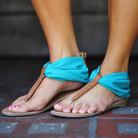 Start Of Summer Sandals: Sea Green | Hope&#x27;s
