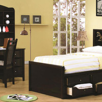 Leon Twin Size Captain&#x27;s Bed