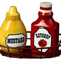 Ketchup and Mustard - Salt &amp; Pepper Shakers