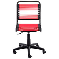 The Container Store &gt; Berry Pink Bungee Office Chair