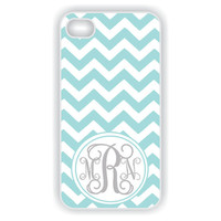 Monogram iPhone 4 Case  Tiffany Blue iPhone by CreateItYourWay