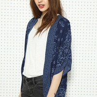 Ecote Printed Cardigan at Urban Outfitters