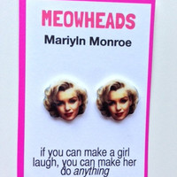 Marilyn Monroe earrings
