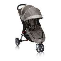 Baby Jogger City Mini Single Stroller in Sand/Stone