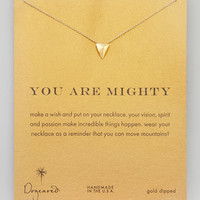 Mighty Golden Stud Pendant Necklace