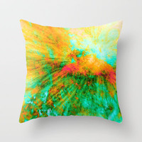 Dragon Fly Throw Pillow by Gréta Thórsdóttir