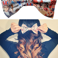 One Direction Hair Bow - Dimeycakes