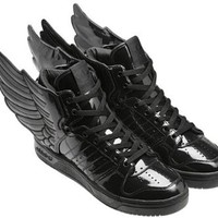 Amazon.com: Adidas Originals X Jeremy Scott Wings 2.0 Mens Black: Shoes