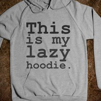 lazy hoodie