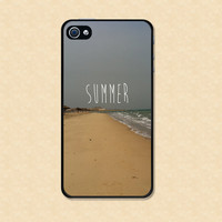 Iphone case Summer Beautiful Beach Sand  Iphone 4 case cool awesome Iphone 4s case