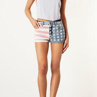 MOTO Flag Print Hotpants - New In - Topshop USA