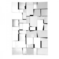 Zuo Modern Fractal Mirror - Opulentitems.com