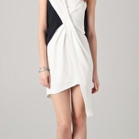 Helmut Lang Cross Tuck Dress | SHOPBOP