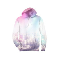 Neon Clouds Hoodie
