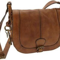 Fossil 'Vintage Reissue' Flap Crossbody Bag at ShopStyle