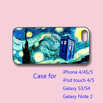 Police box - samsung galaxy s3 case , galaxy S4 case, galaxy note 2 case, iPhone 4 case, iPhone 5 case, ipod touch 4 / 5 case , ipod case