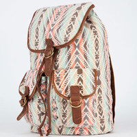 T-SHIRT & JEANS Ethnic Stripe Backpack