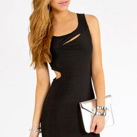 Asymmetry Tank Dress $25