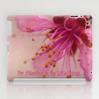 Little Things iPad Case by Irina Wardas