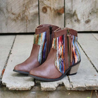 Makay Stitch Boots, Sweet Bohamian Boots & Shoes