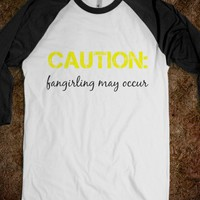 Caution: Fangirling  - toxic tees - Skreened T-shirts, Organic Shirts, Hoodies, Kids Tees, Baby One-Pieces and Tote Bags