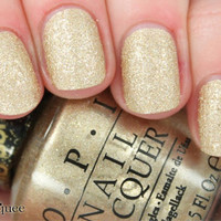 OPI Nail Polish (M53-Honey Ryder) [NEW] The Bond Girls Collection *LIQUID SAND*