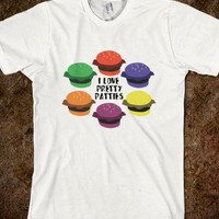 Pretty Patties - Movies and Television - Skreened T-shirts, Organic Shirts, Hoodies, Kids Tees, Baby One-Pieces and Tote Bags