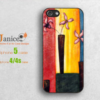 iphone 5 cover iphone 5 casse the best case for iphone 5 case with beautiful picture design unique Iphone cases 4  B0091