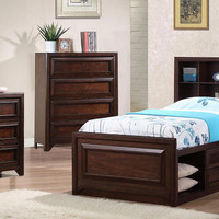 Howard Twin Size Captains Bed