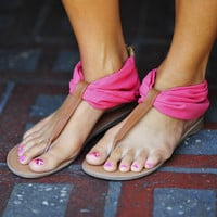 Start Of Summer Sandals: Coral | Hope's