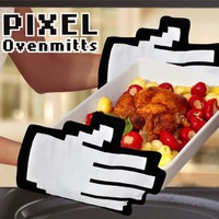 Pixel Hands Mouse Pointer Mittens: Toys & Games