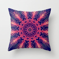 Watermelon Burst Throw Pillow by Abstracts by Josrick
