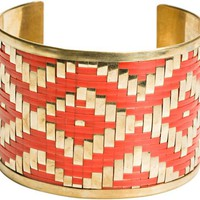ZAD MULTI COLOR WOVEN CUFF > Womens > Accessories > BRACELETS | Swell.com