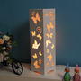 Butterfly Hollow out Best LED Desk Lamps White|JollyHome.com