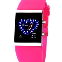 Waterproof LED Jelly Watch