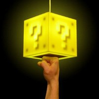 Interactive 8-Bit Lamp to Make You Super Mario