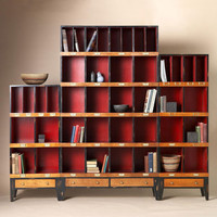DRAPER'S CABINETS, SET OF 3