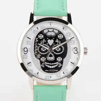 Skull Watch- Mint One