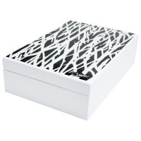 NEW DIANE VON FURSTENBERG VINTAGE INSPIRED DECORATIVE JEWELRY BOX