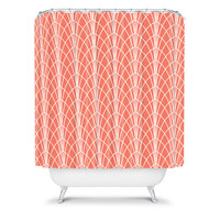DENY Designs Home Accessories | Heather Dutton Arcada Persimmon Shower Curtain