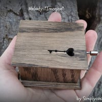 music box, key to your heart, mothers day music box, mothers day, music boxes, imagine music box, last minute gift