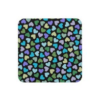 Hearts #3 - Coasters at Zazzle.ca