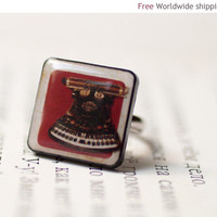 Typewriter ring (R011)