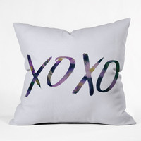 DENY Designs Home Accessories | Leah Flores XOXO Throw Pillow