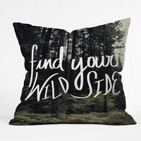 DENY Designs Home Accessories | Leah Flores Wild Side Throw Pillow