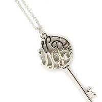 Hope Key Necklace