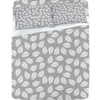 DENY Designs Home Accessories | Bianca Green Leafy Sheet Set