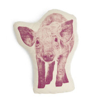Fauna Pico Organic Cotton Pig Pillow